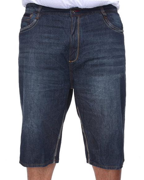 COOGI Men Dark Wash Lavish Denim Shorts (B&T)