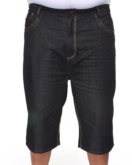 COOGI Men Black Lavish Denim Shorts (B&T)