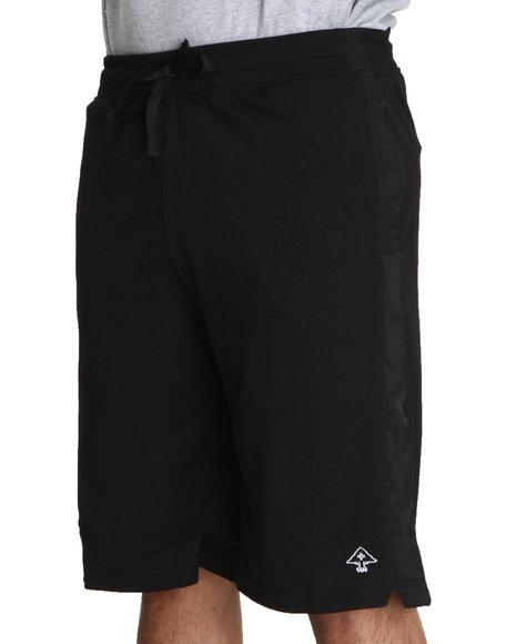 LRG Men Black Core Collection Mesh Shorts