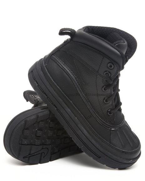 Nike Boys Black Woodside Hi Boots (Preschool kids)