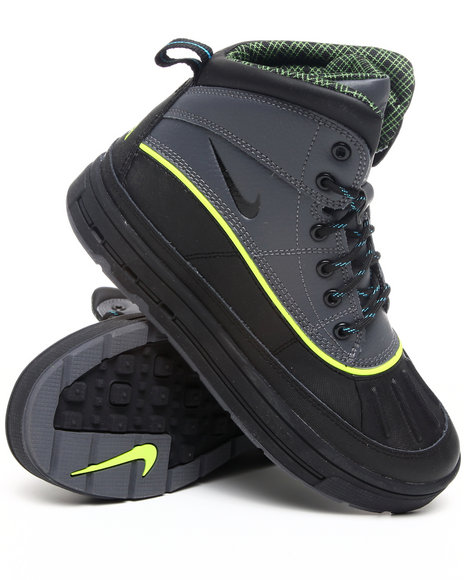 Nike Boys Black Nike Woodside 2 Hi Boots (Grade-school Kids)