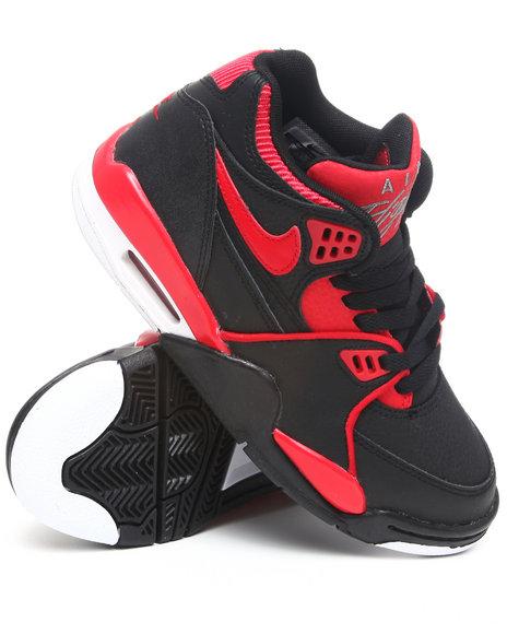 Nike Boys Black Air Flight 89 Sneakers (Grade-school Kids)