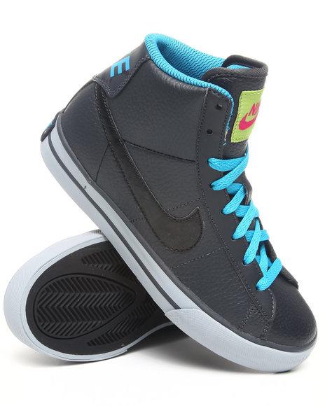 Nike Boys Black,Grey Sweet Classic Hi Sneakers (Gs/Ps)