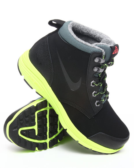 Nike Boys Black Dual Fusion Jack Boots (Grade-school Kids)