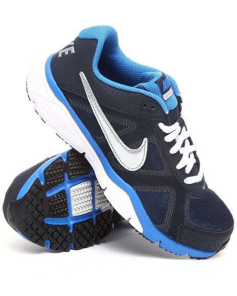Nike Boys Navy Nike Dual Fusion Tr 3 Sneakers (Grade-school Kids)