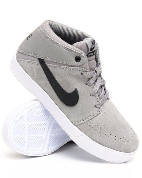 Nike Boys Grey Nike Suketo Mid Sneakers (Grade-school Kids)