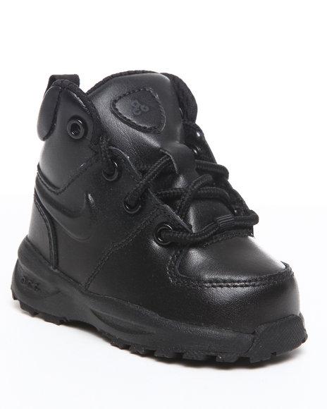 Nike Boys Black Nike Manoa Lth Boots (Toddlers)