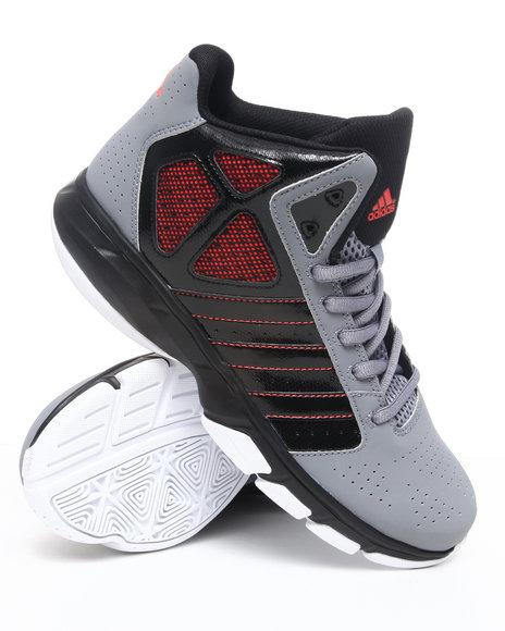 Adidas Men Grey Cross Em Sneakers