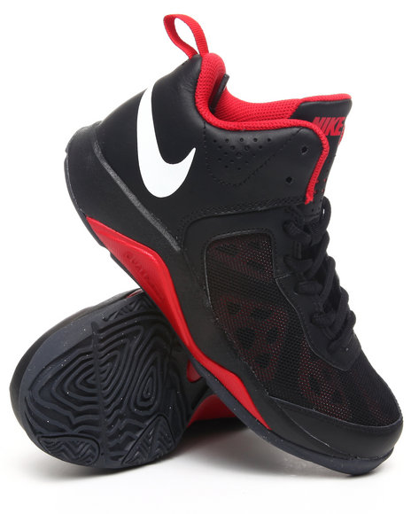 Nike Boys Black Dual Fusion Bb Sneakers (Gs)