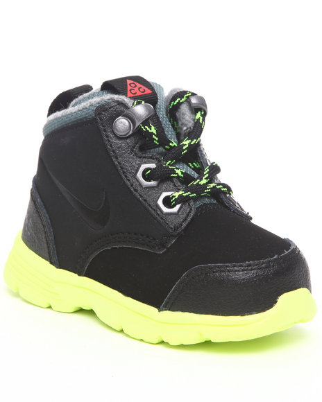 Nike Boys Black Df Jack Boots (Toddlers)