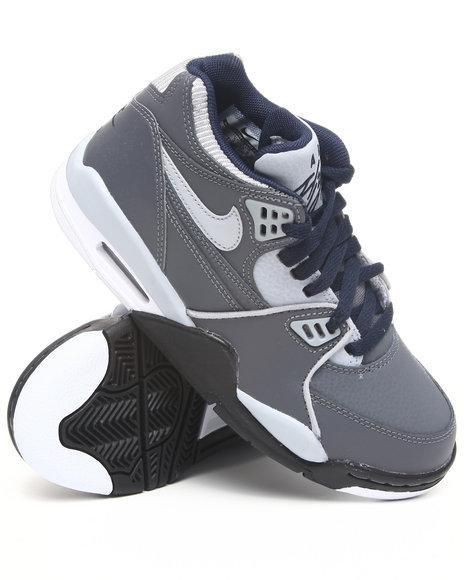 Nike Boys Grey Air Flight 89 Sneakers