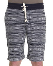 Shades of Grey by Micah Cohen - Jacquard Print Sweatshort