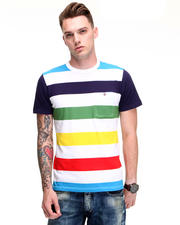 PRPS - Multi Color Wide Stripe S/S Tee