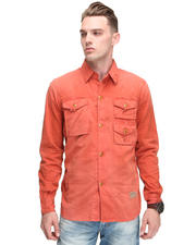 PRPS - Bedford Micro Cord Patch Pocket L/S Button-Down
