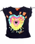 T-Shirts - SUNBURST HEART TEE (4-6X)