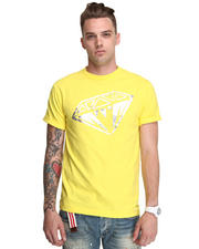 -FEATURES- - S/S Metallic Foil Diamond Tee