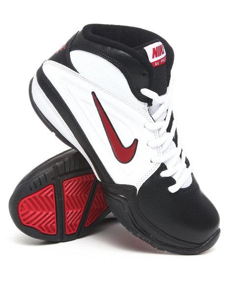 Nike Boys White Nike Av Pro Sneakers (Gs/Ps)