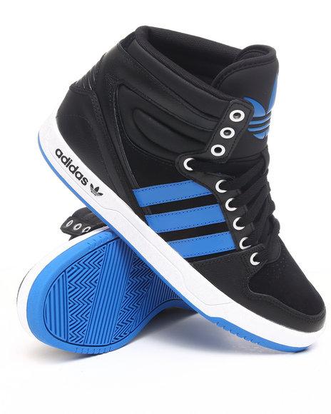 Adidas Men Black Court Attitude Sneakers