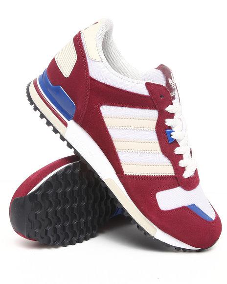 Adidas Men Maroon Zx700 Sneakers