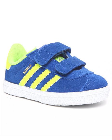 Adidas Boys Blue Gazelle 2 Infants Sneakers