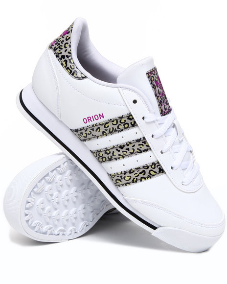 Adidas Women White Orion W Leather Sneakers