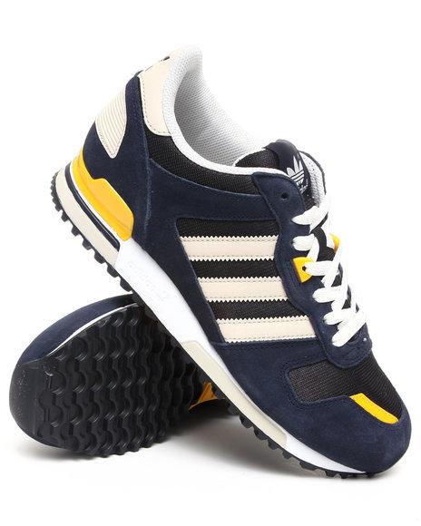 Adidas Men Navy Zx700 Sneakeres
