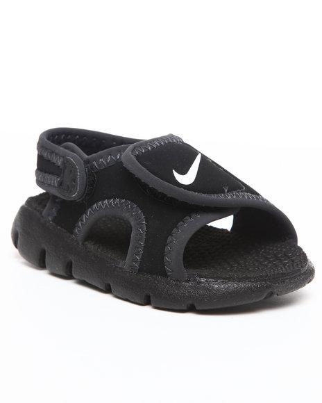 Nike Boys Black Sunray Adjust Sandals (Toddlers)