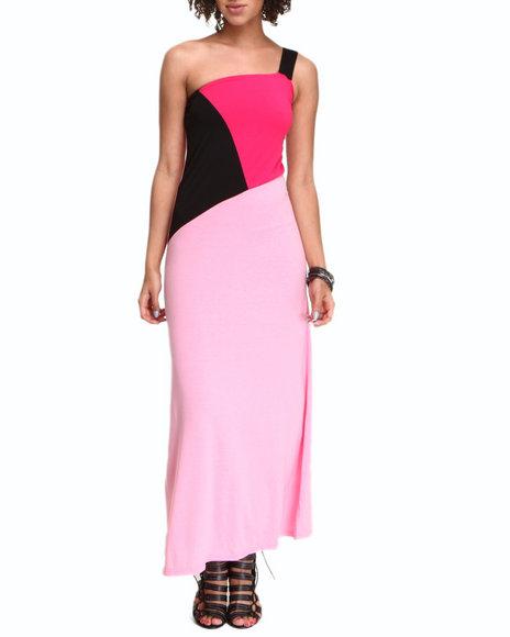 Fashion Lab Women One Stap Maxi Dress Black Small