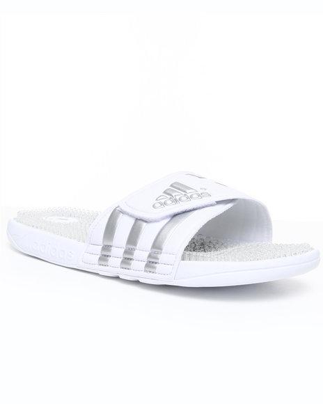 Adidas Men White Adissage Fade Sandals