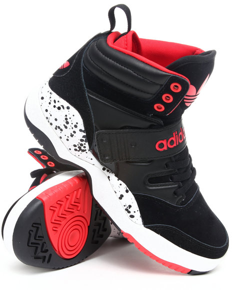 Adidas Boys Black Hackmore J Sneakers
