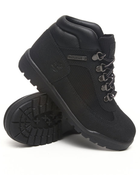 Timberland Boys Black Field Boot Scuff Proof Boot (Boys)
