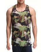 Men - Palms tank top