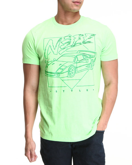 Neff Lime Green Style Tee