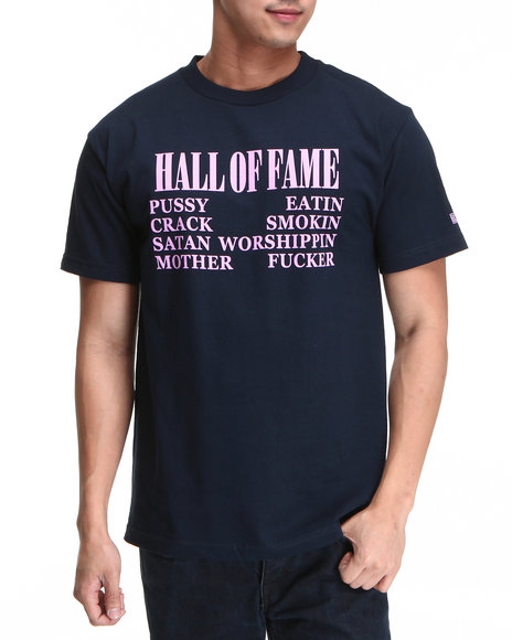 Hall of Fame Navy Nirvana Tee