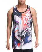 Men - Tiger 2 tank top