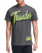 Men - Oklahoma Thunder Micro HD Tee