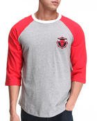 Men - Chicago Bulls Triple Double Raglan Shirt