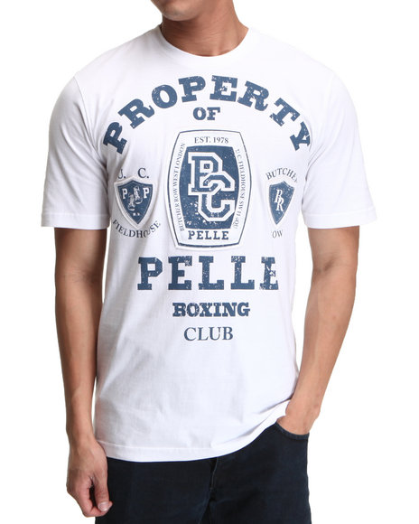 Pelle Pelle Men White S/S Pelle Boxing Club Tee