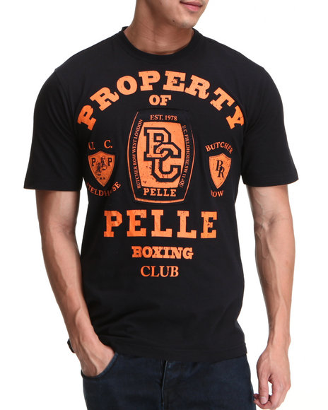 Pelle Pelle Men Midnight S/S Pelle Boxing Club Tee