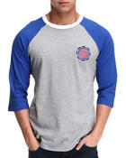 Men - New York Knicks Triple Double Raglan Shirt