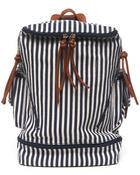 Fashion Lab - Nautical Striped Backpack