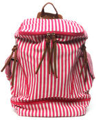 Bags - Nautical Striped Backpack