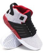 Supra - Skytop III White Vintage Canvas Sneakers