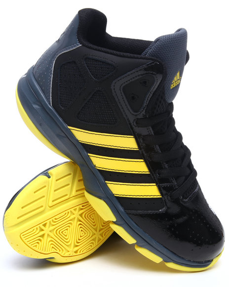 Adidas Men Black,Blue,Yellow Cross Em Sneakers