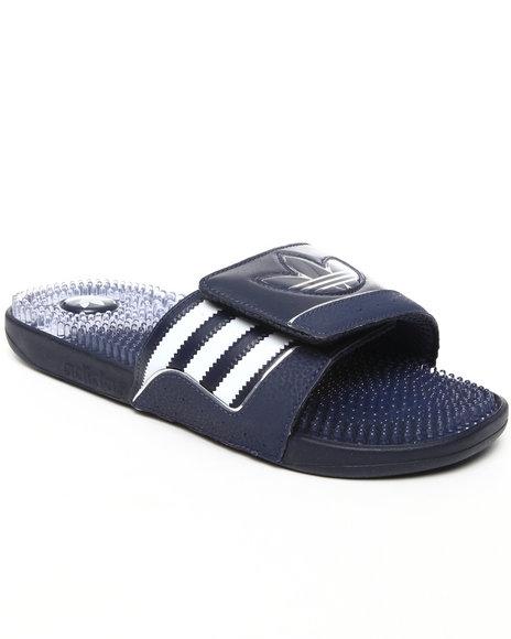 Adidas Men Navy Trefoilssage Sandals