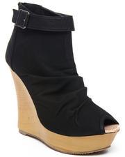Fashion Lab - Lany Peep Toe Wedge