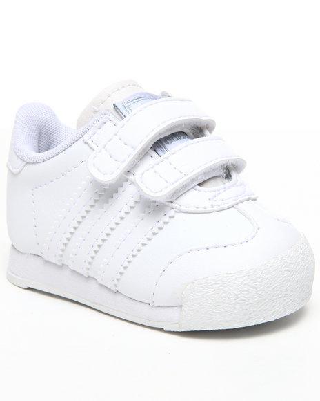 Adidas Boys White Samoa Cf Infants Sneakers