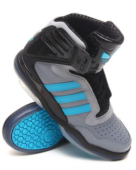 Adidas Men Grey Adidas Tech Street Mid Sneakers