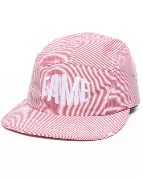 Hall Of Fame Bulge 5-Panel Cap Red