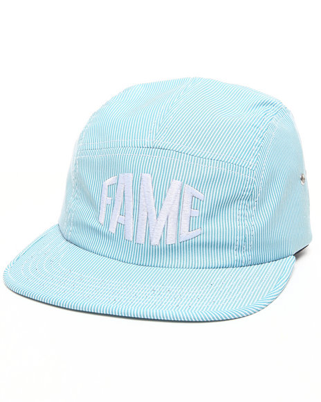 Hall Of Fame Bulge 5-Panel Cap Light Blue